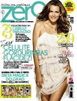 capa da revista Zero, anunciando todo tipo de dicas para ter o corpo perfeito e o cabelo perfeito