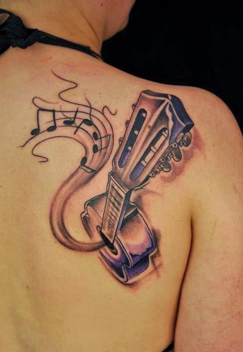 3d Tattoos Ideas On Back.