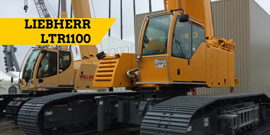 LTR1100 displayed at Liebherr Customer Day in June 2015