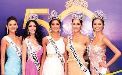Bb. Pilipinas, Bb. Pilipinas 2013, Bb. Pilipinas 2013 winners