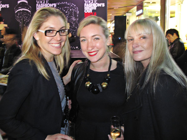 Three VFNO Guests, Sydney
