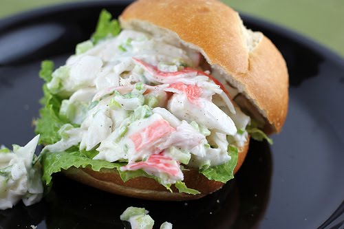 Crab salad sandwiches recipe |recipes for imitation crab meat