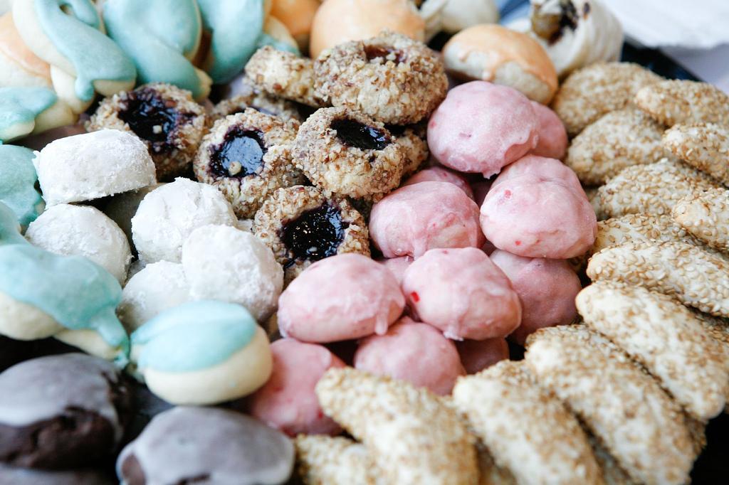 Traditional Italian Wedding Entrees Cookies