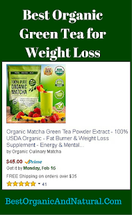 Best Organic Green Tea for Weight Loss