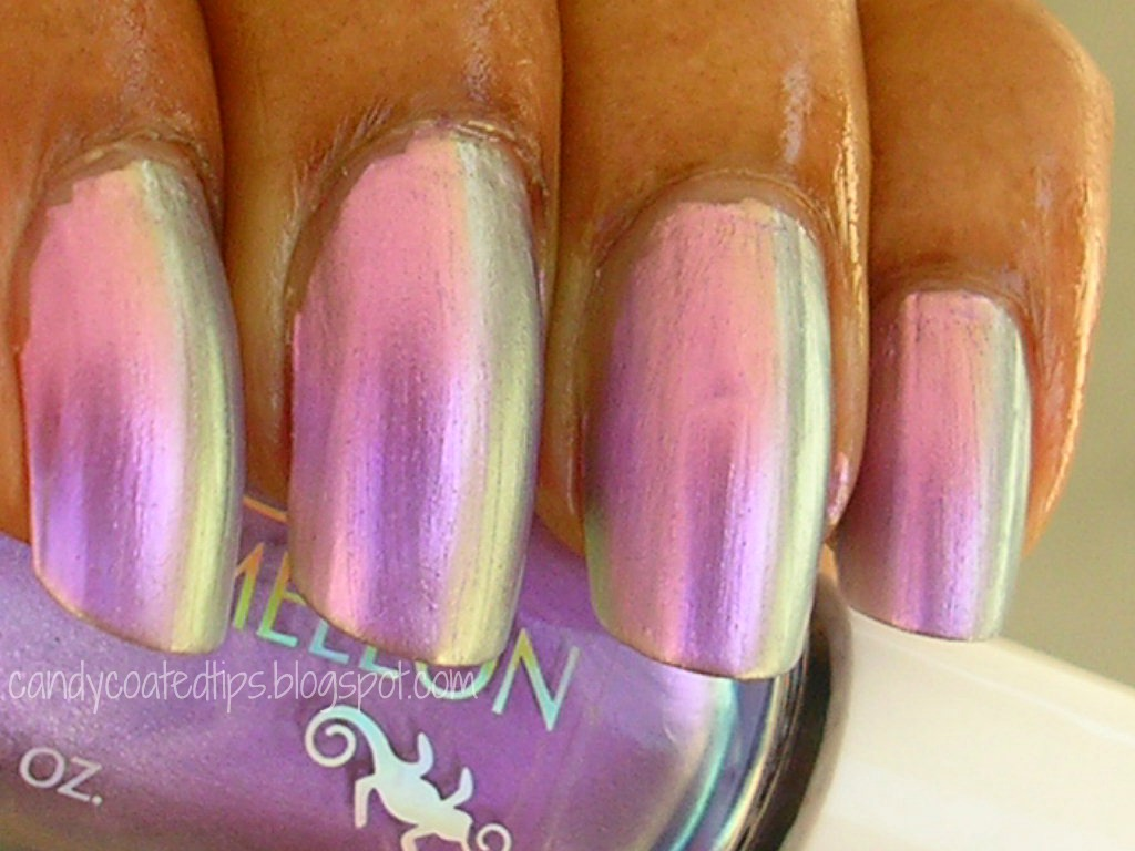 Candy Coated Tips 4 Duochrome Colors From Scherer Chameleon Sherer Nail Polish