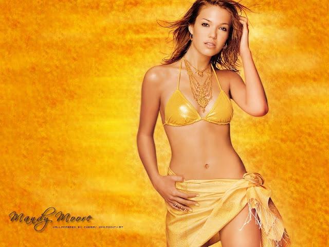 Mandy Moore in Bikini