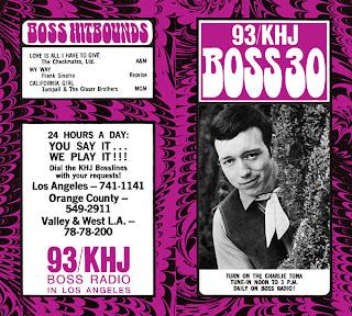 KHJ Boss 30 No. 192 - Charlie Tuna