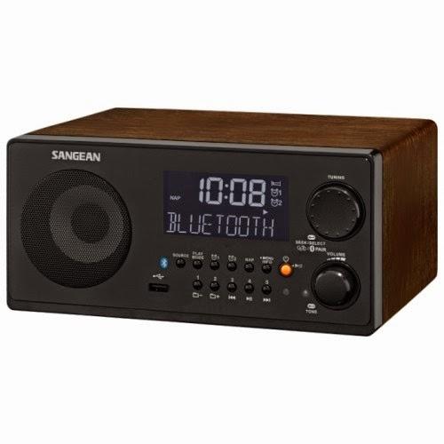 Радиоприемник Sangean WR-22 с поддержкой проигрывания MP3 WMA файлов и Bluetooth
