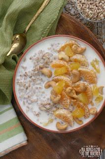 Warm Farro Breakfast Bowls