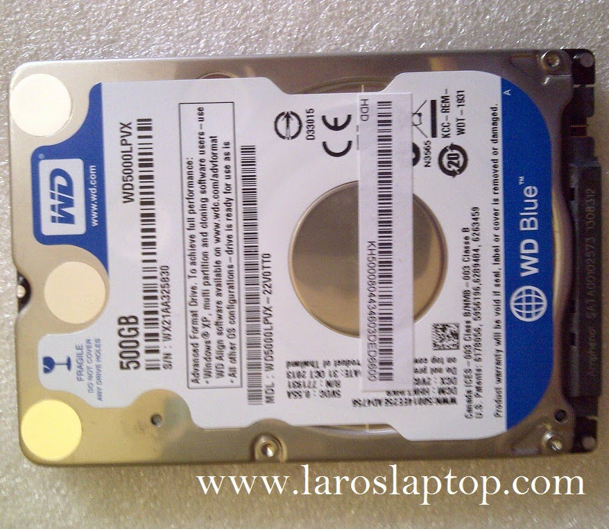 Hardisk Laptop WD 500GB SATA