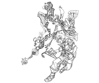 #10 Ventus Coloring Page