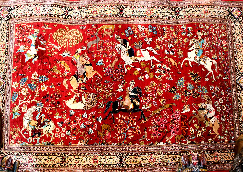 نقشه قدیمی گلیم فرش تفاوت فرش های ماشینی با فرش دستباف