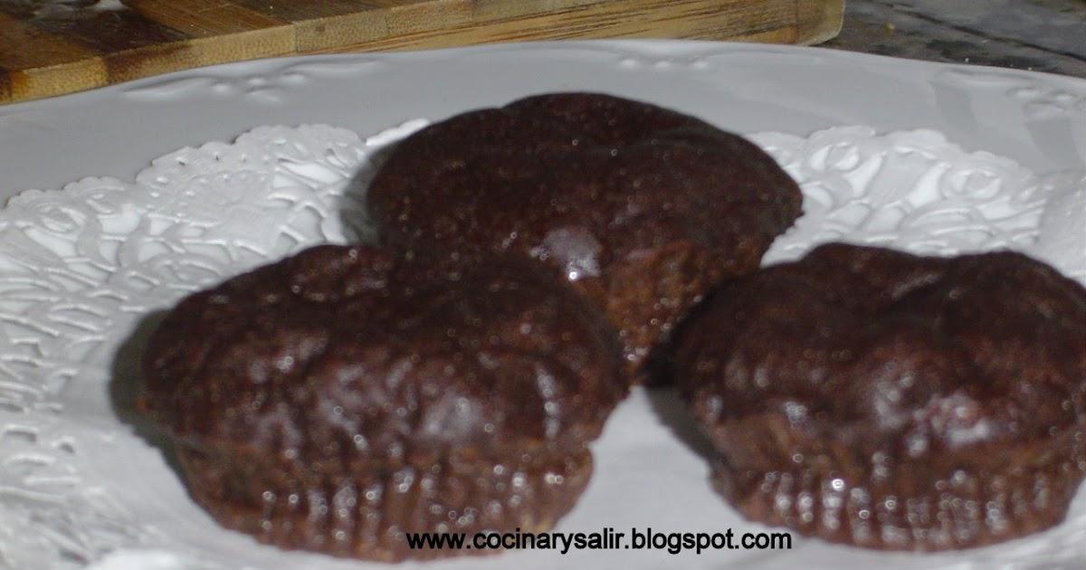 Cocinar y salir mini tartas de chocolate sin harina for Cocinar a 60 grados