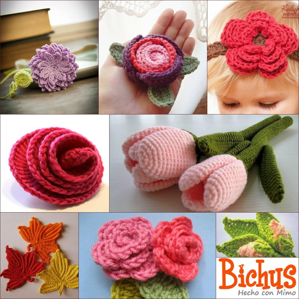 Como hacer flor de ganchillo imagui - Hacer flores de ganchillo ...