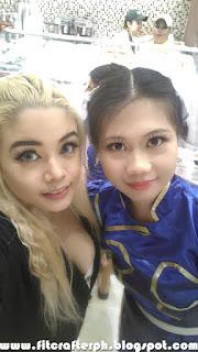 Khaleesi and Chun LI