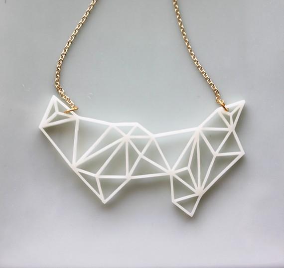 Etsy geometric necklace by mariko carandang tags acrylic black jewelry design contemporary jewelry design etsy etsy geometric necklace etsy shop geometric necklaces iluxo aloadofball Images