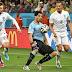 Suárez hace acto de presencia y Uruguay casi elimina a Inglaterra