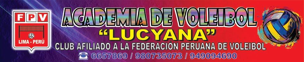 "ACADEMIA DE VOLEIBOL ""LUCYANA"""