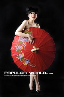 hot Tina Toon for Popular World December 2012