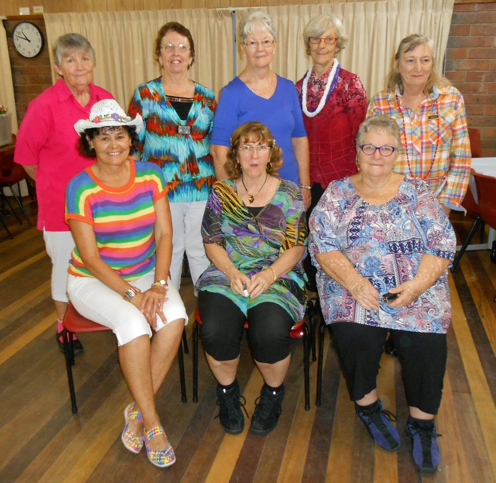 Coasters' Colour at Innisfail's Colour my world