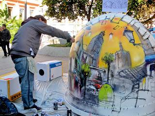 Sevilla - Reciclar con arte 01