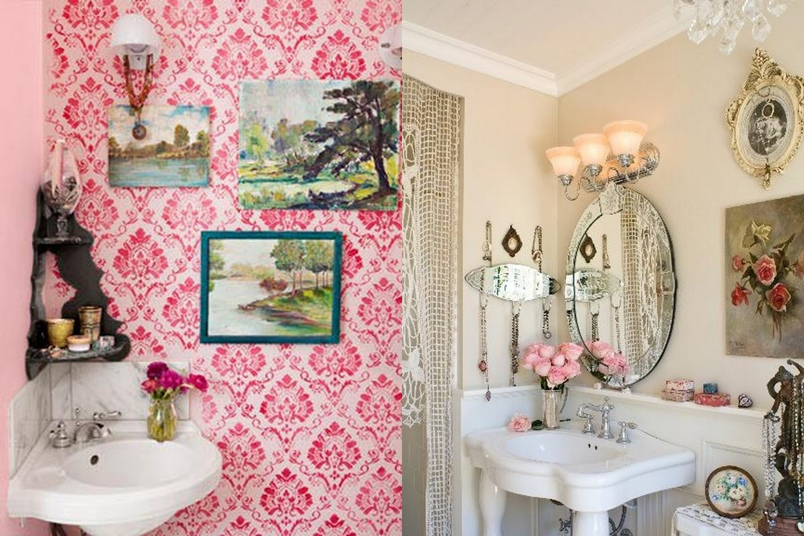 I have been thinking a lot about my bathroom decor  For one since we ve  moved back to Houston. GYPSY YAYA  Beautiful Bohemian Bathrooms