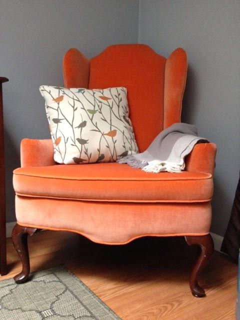 Superb Tangerine Chair