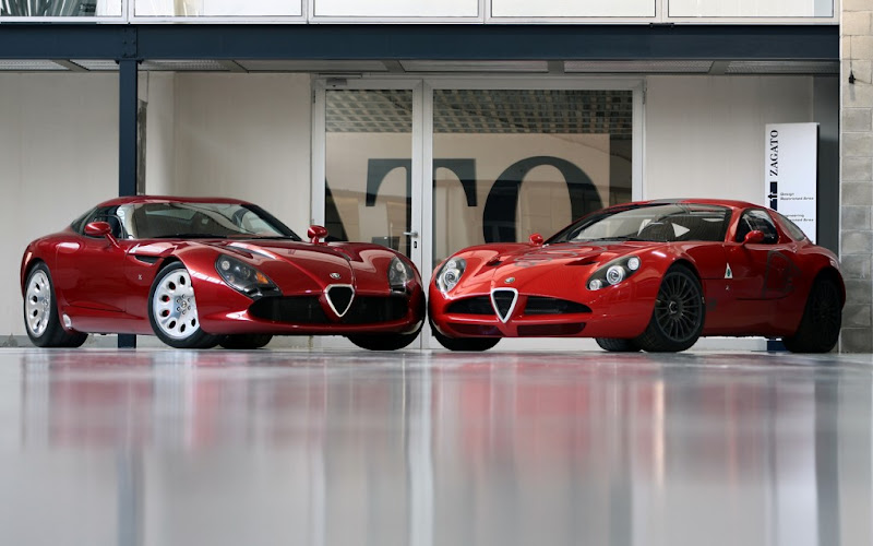 Zagato TZ3 Stradale sports cars