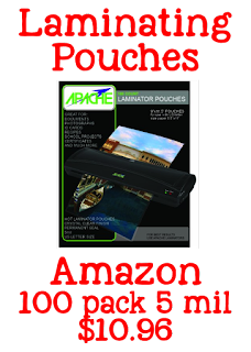 laminating pouches, laminator for teachers