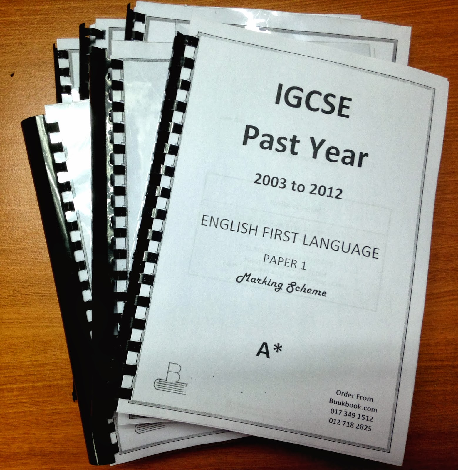 past igcse english literature papers