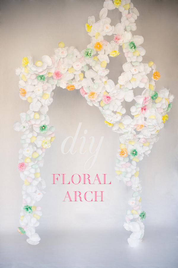 nursaila norman diy paper flower arch