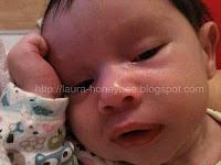 Milk drunk baby