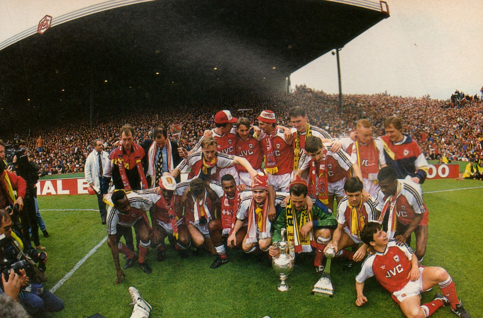 Fritz The Flood Arsenal Champions 1990 1991