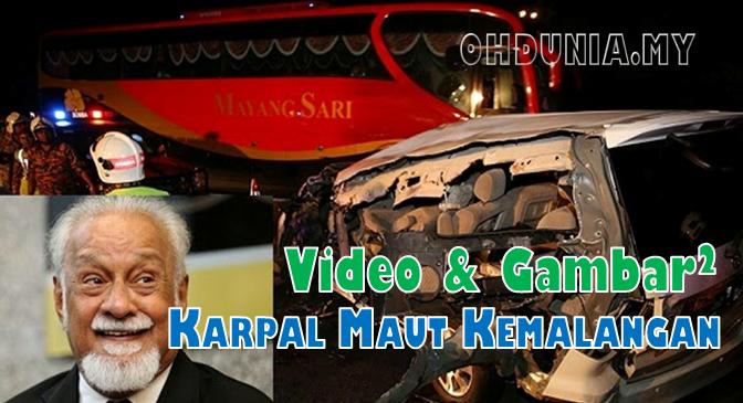 Video Dan Gambar-Gambar Karpal Singh Terbunuh Dalam Kemalangan !..