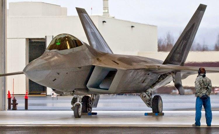 F-22 U.S. Air Force di Joint Base Elmendorf-Richardson, Alaska