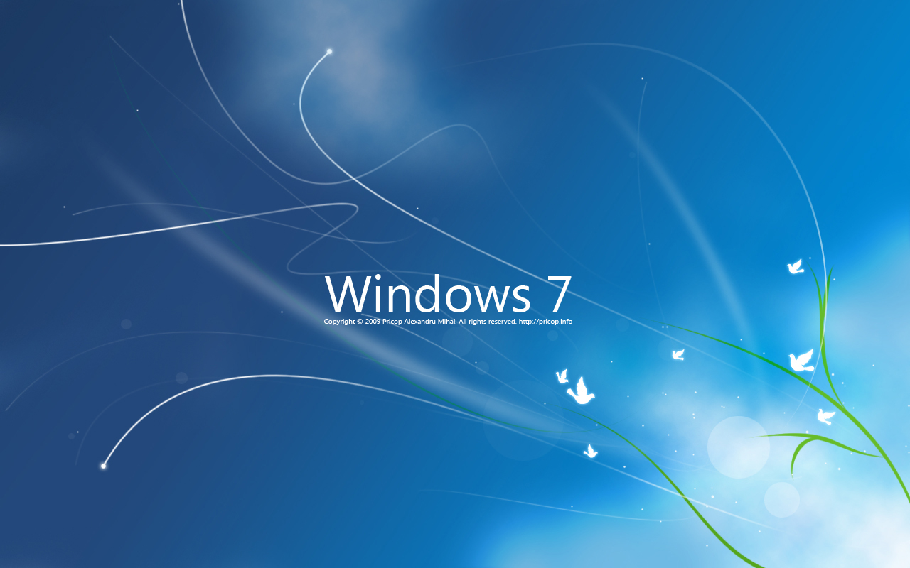 high definition wallpapers: window 7 wallpaper