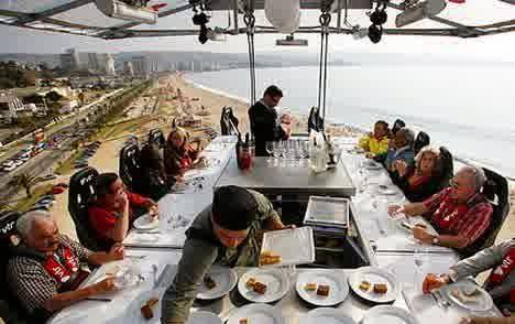Restoran Dinner In The Sky