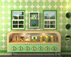 Juegos de Escape Fruit Kitchen 2 - Green Apple