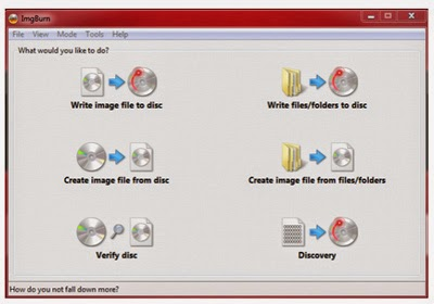 cara membuat file ISO image windows 7