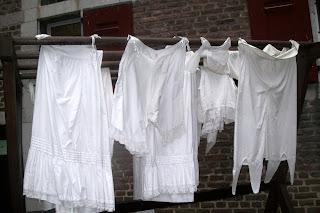 Wäsche ist hier sauber geworden