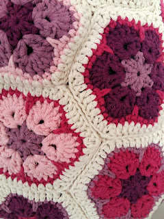 crochet granny flower