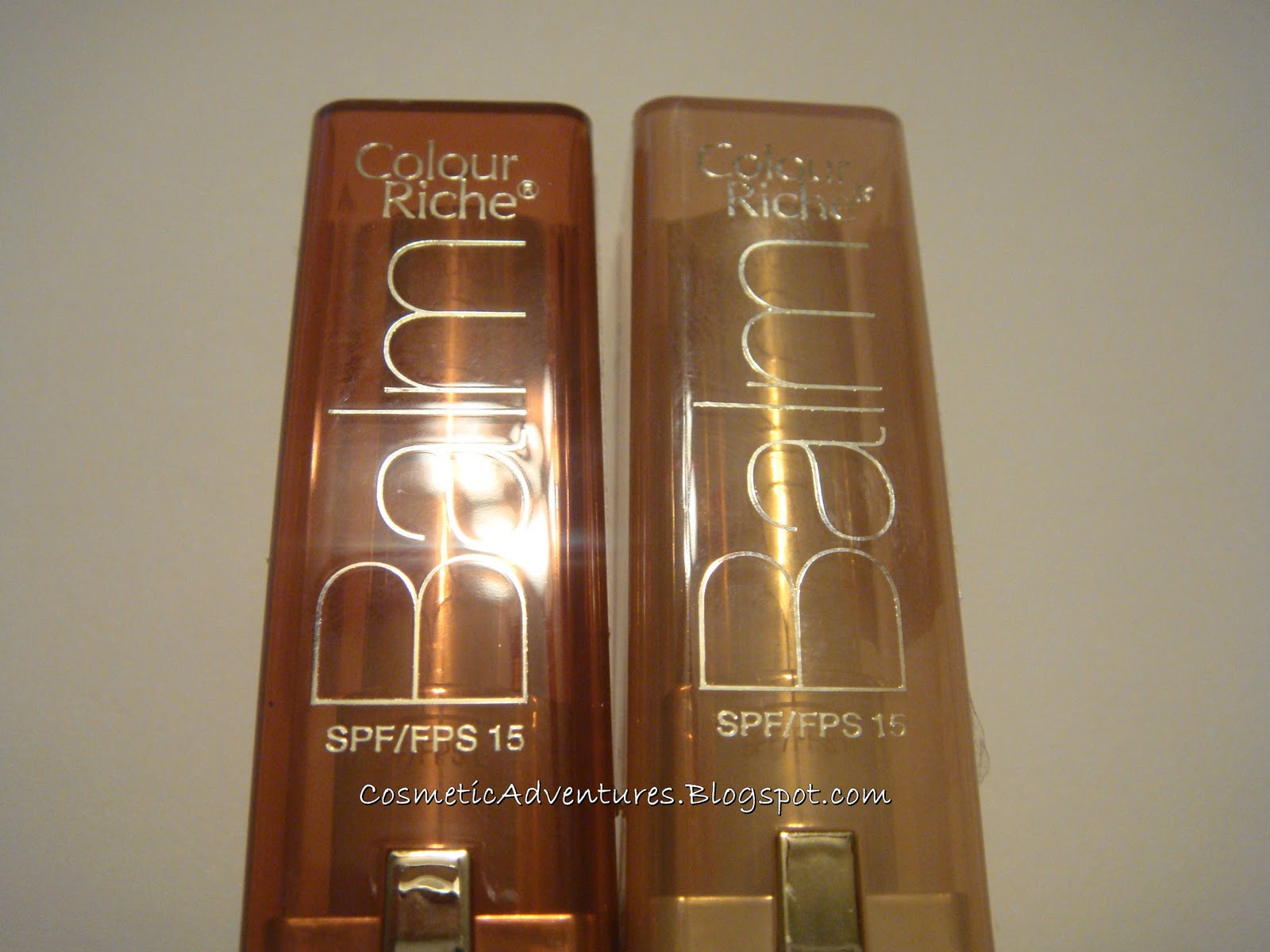 Cosmetic Adventures: LOreal Colour Riche Balm Swatches