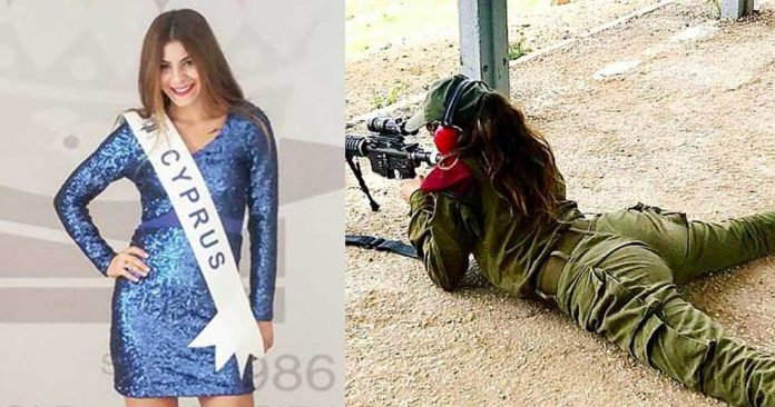 Μοντέλο άφησε την πασαρέλα και έγινε «κομάντο» στην Εθνική Φρουρά της Κύπρου
