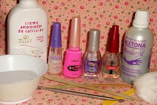 kit manicure para unhas