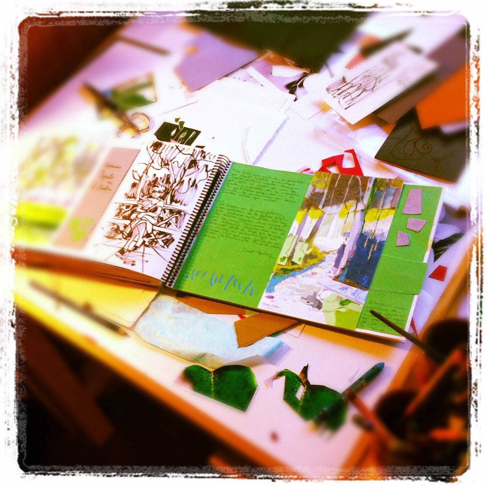 Una página más en el cuaderno