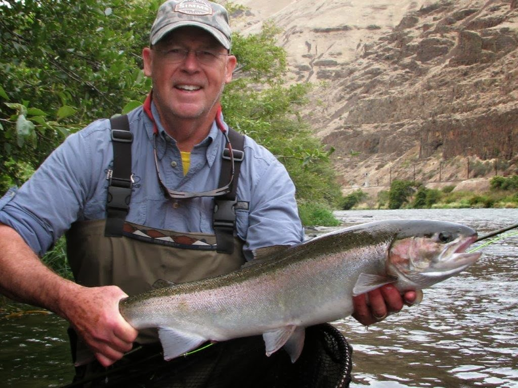 Fly fish oregon water time report deschutes river for Deschutes river fishing report