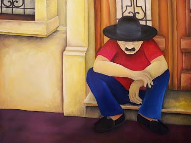 """""""Hombre con sombrero"""""""