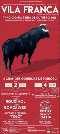 Vila Franca de Xira- Feira Taurina 2016