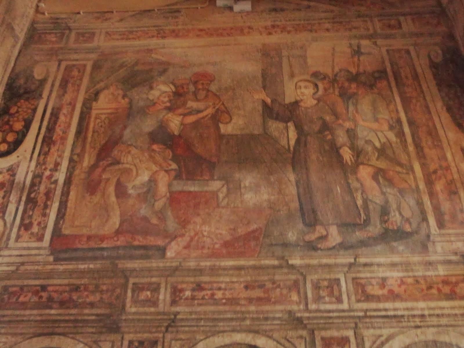 Pintura Mural da Capela de São Brás
