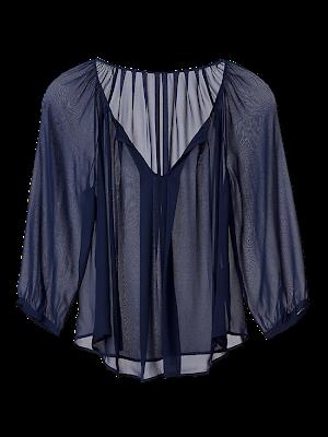 f5 J71 23044 DARKNAVY FLAT 9 1 2 3 - �ifon Elbise ve Bluz Modelleri 2012